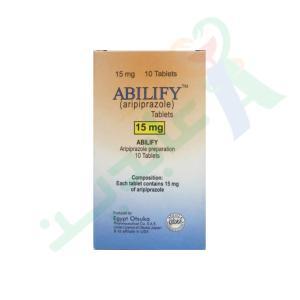 ABILIFY 15 MG 10 TAB